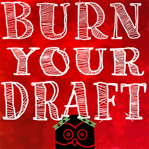 Burn Your Draft logo image with owl in laurels