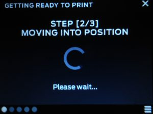 print makerbot move to position