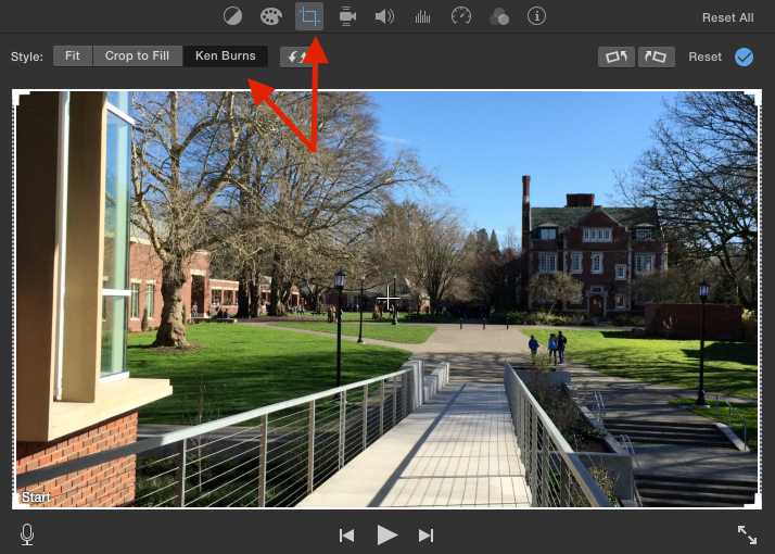 Pan to Zoom in iMovie and Final Cut Pro X | Teaching and Learning