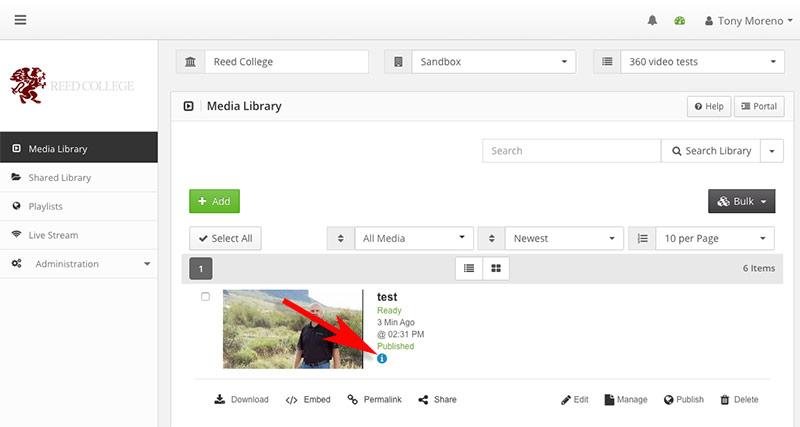 ensemble media info icon
