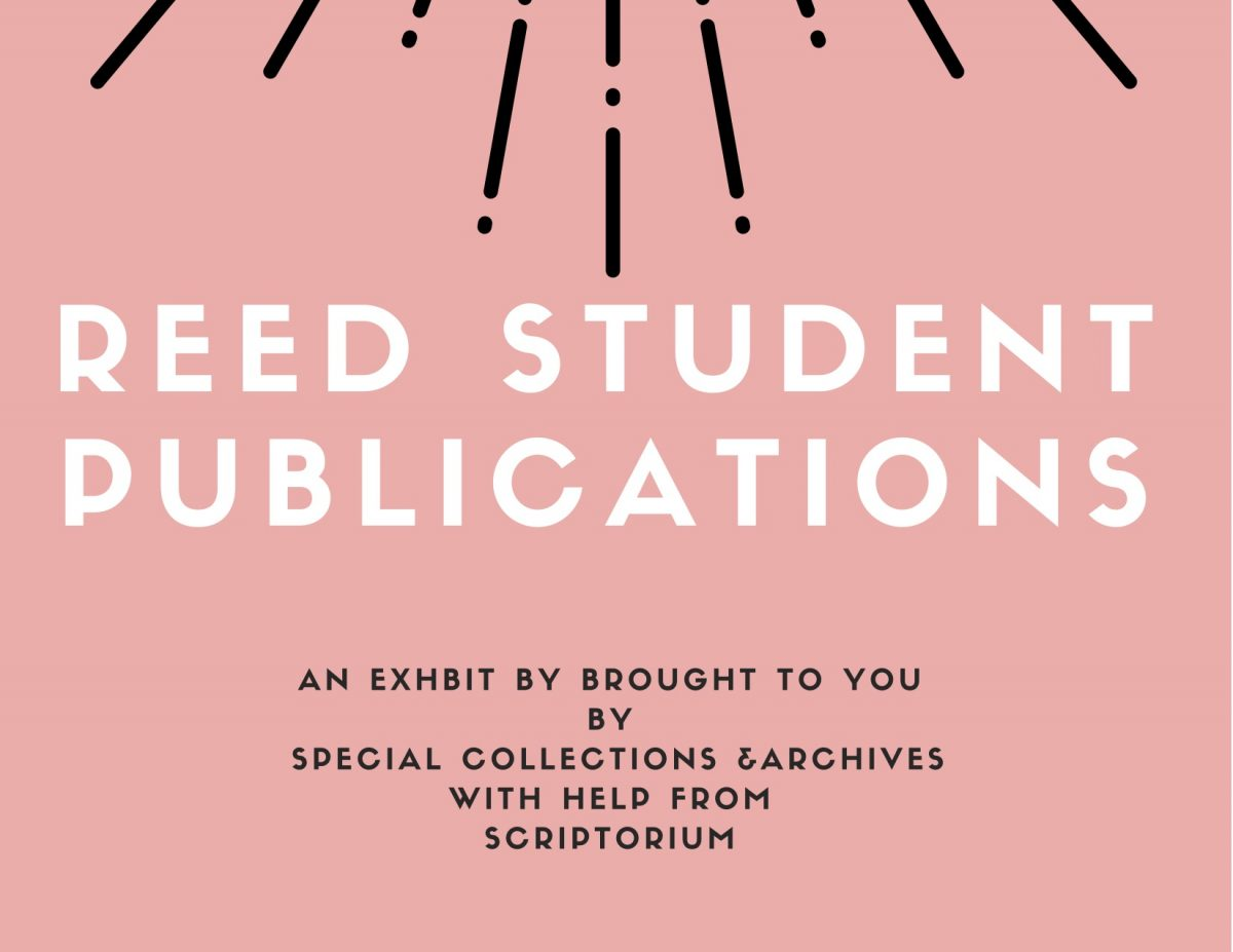 Reed Student Publications