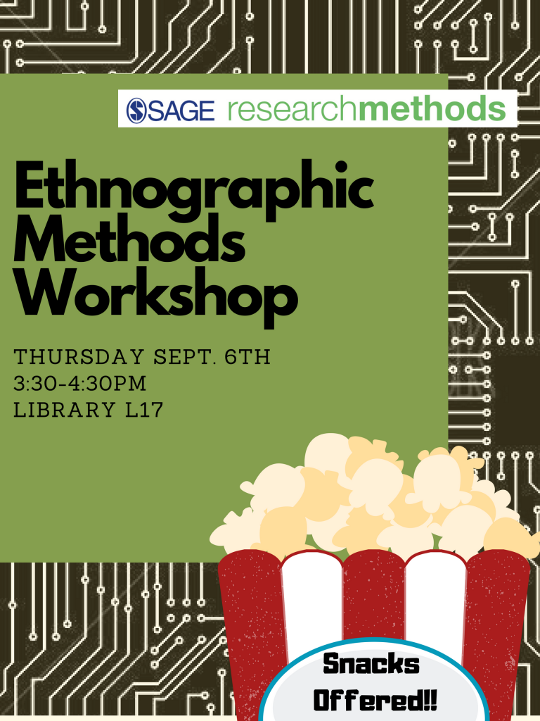 Ethnographic Methods Workshop